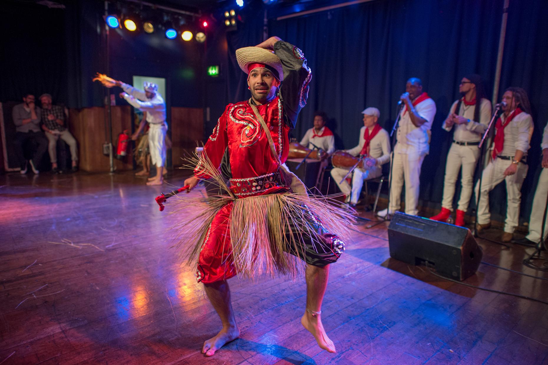 Salsa show london